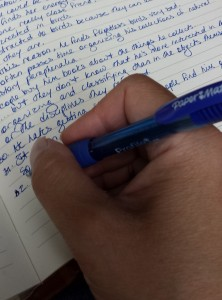 Writing by Hand